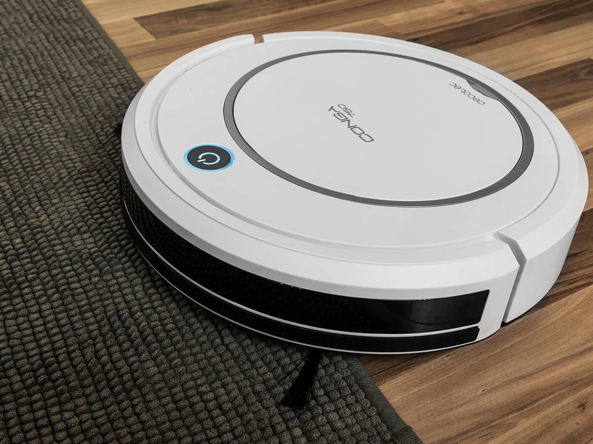 Robot Aspirador Inteligente Conga 750 WET   Gatoo
