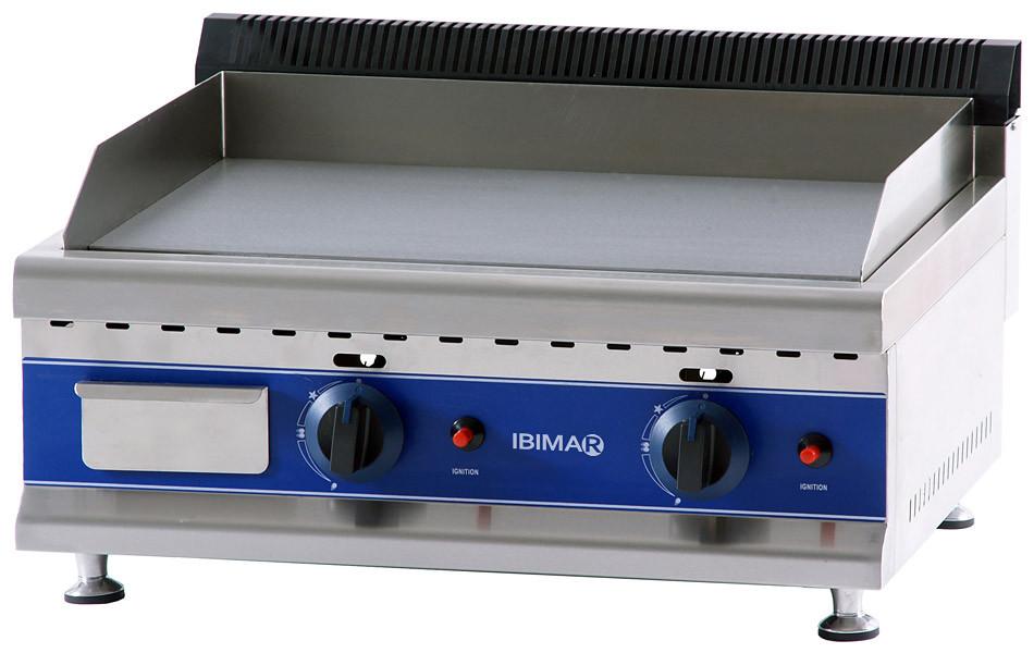 Plancha de asar profesional a gas ibimar ibp gl650 gatoo for Plancha de gas butano