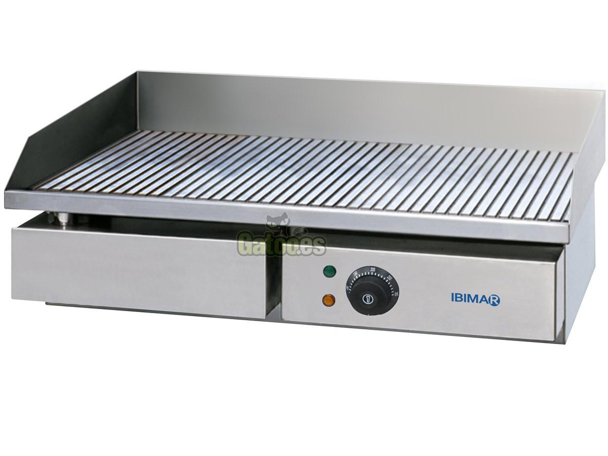 Plancha de asar profesional ibimar ibp r550 gatoo for Plancha electrica cocina