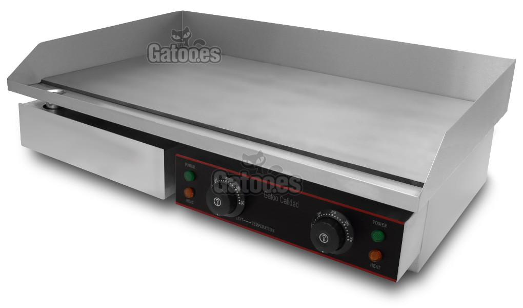 Plancha de asar profesional 730 mm gatoo - Planchas electricas cocina ...
