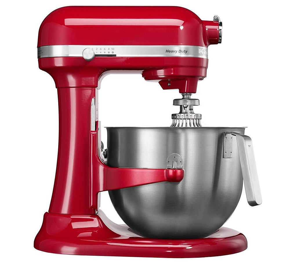 Amasadora Batidora KitchenAid Heavy Duty en color Rojo