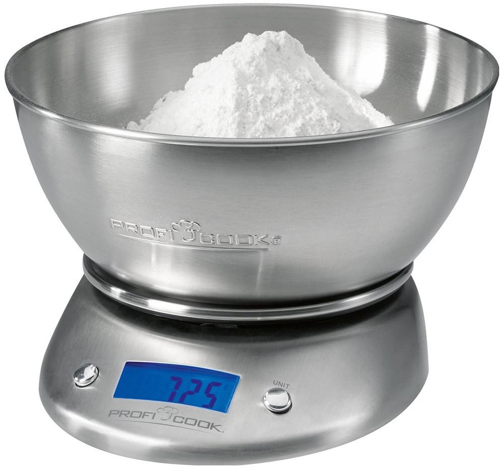 Balanza de cocina Proficook 5 Kg y 2 litros