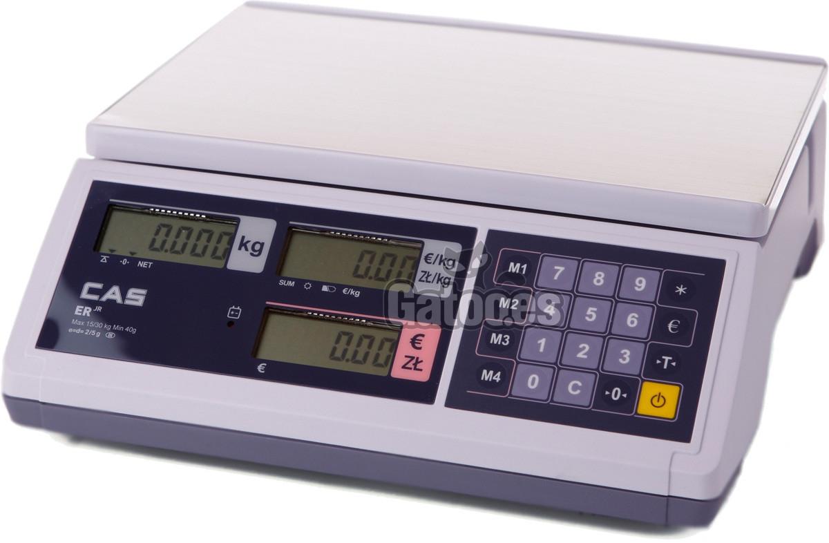 Balanza Comercial Profesional Plana ERJ-30