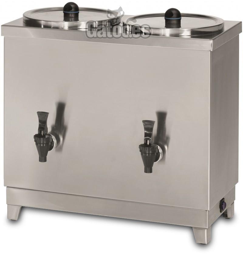 Calentador de Leche Profesional 6+6 Litros (12 Litros) TH12