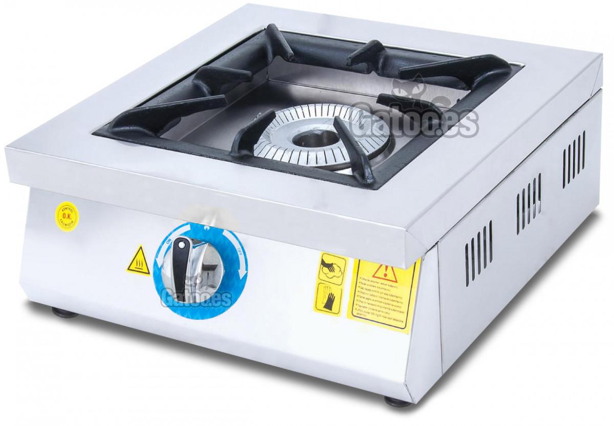 Cocina de Gas Industrial de 1 Fuego GM1
