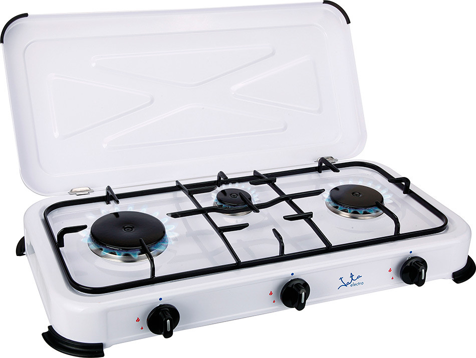 Cocina de Gas de 3 Fuegos doméstica