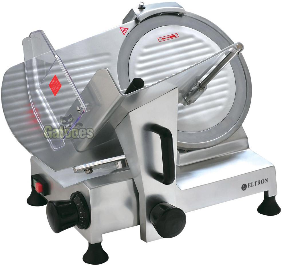 Cortadora de Fiambres Profesional ELTRON 300A de 300 mm