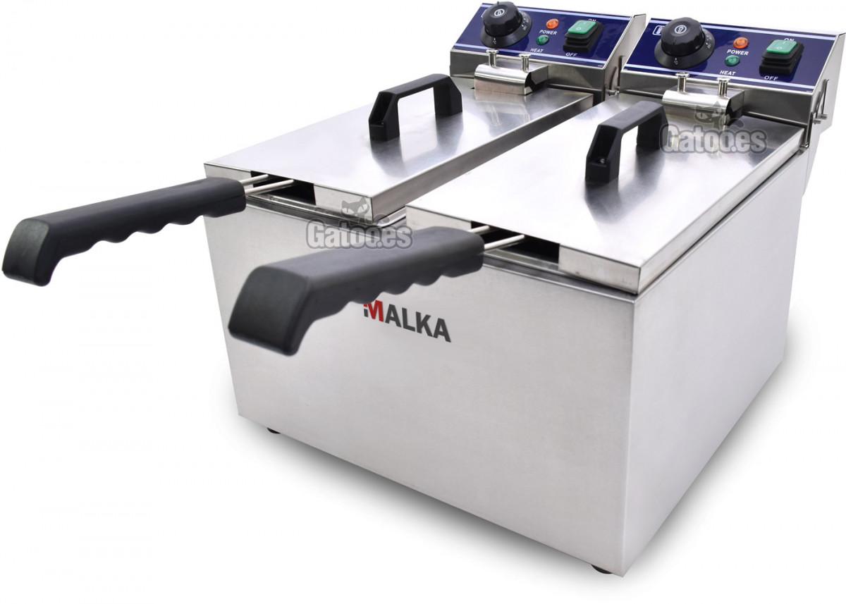 Freidora profesional Malka 16 litros