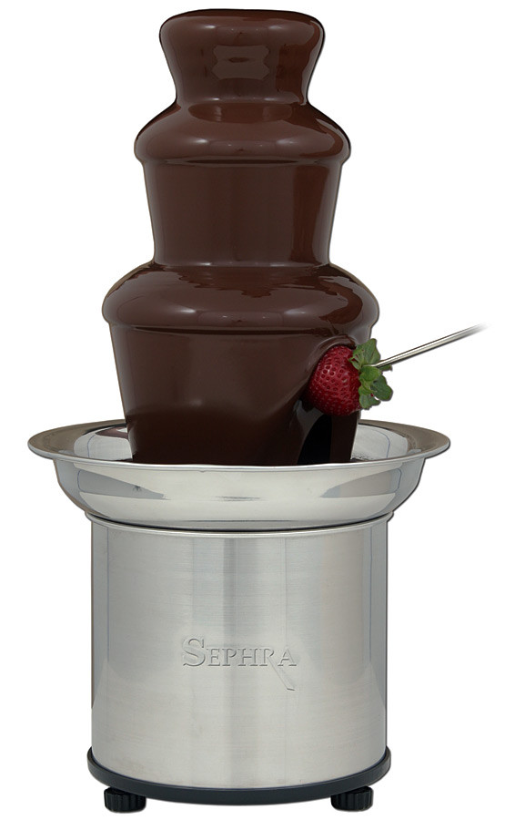 Fuente de chocolate Selección de Sephra