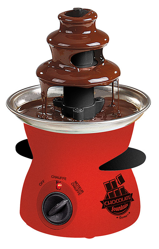 Fuente de chocolate mini Domo