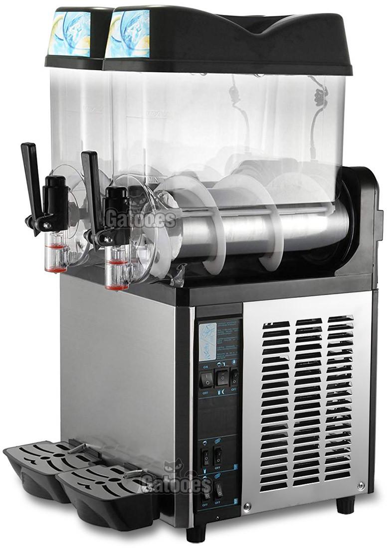 Granizadora Profesional 12+12 litros
