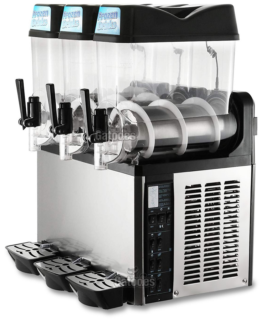 Granizadora Profesional 12+12+12 litros