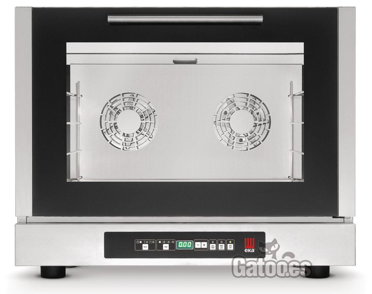 Horno de Cocina digital de 4 bandejas de 60x40 y Humidificación. EKA