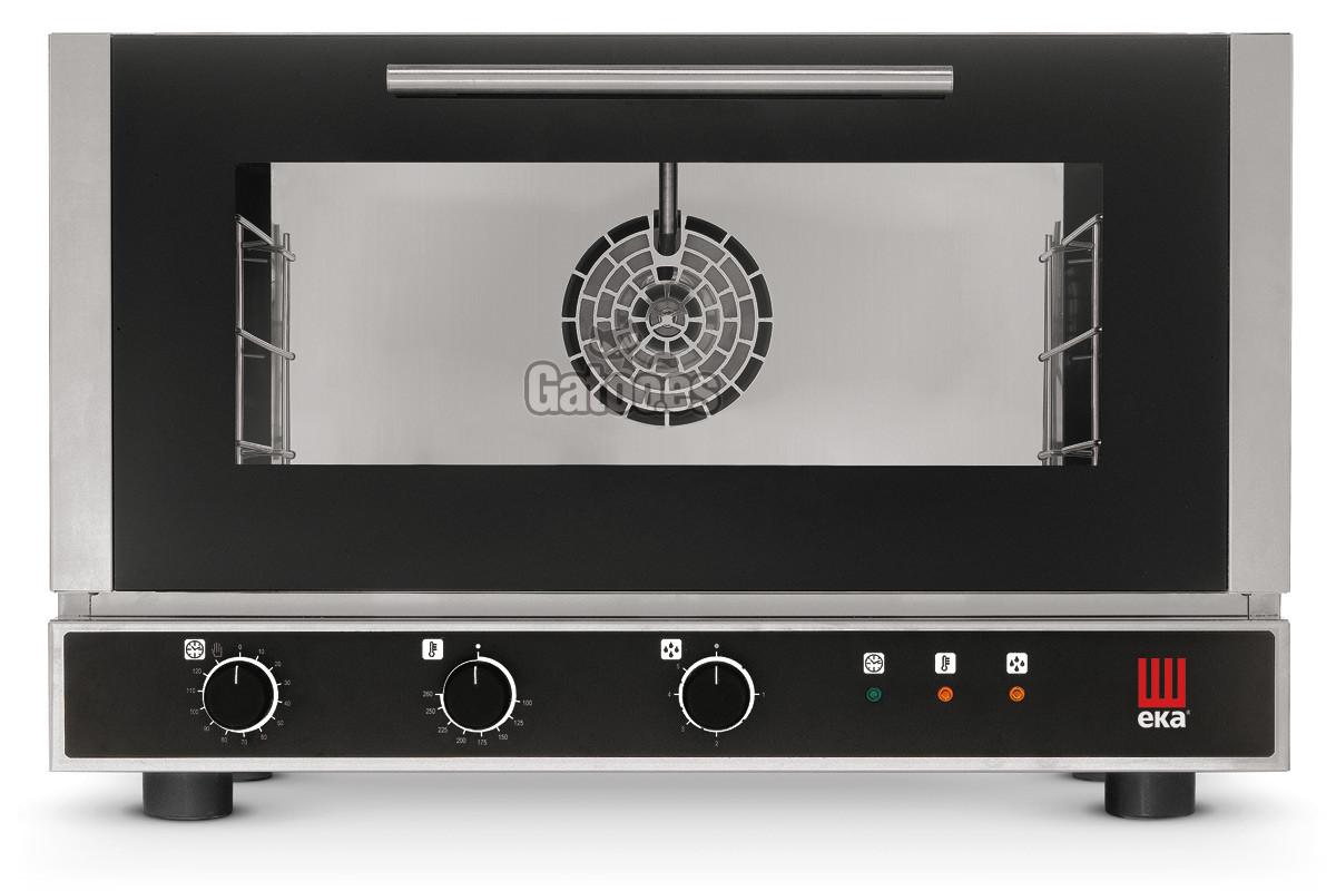 Horno para Pastelería, Panadería y Cocina con 3 bandejas de 60x40 y con vapor. EKA