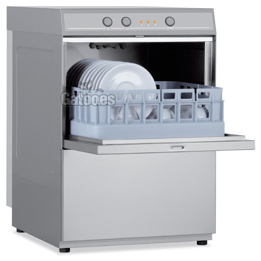 Lavavasos Industrial con Cesta 35x35 cm