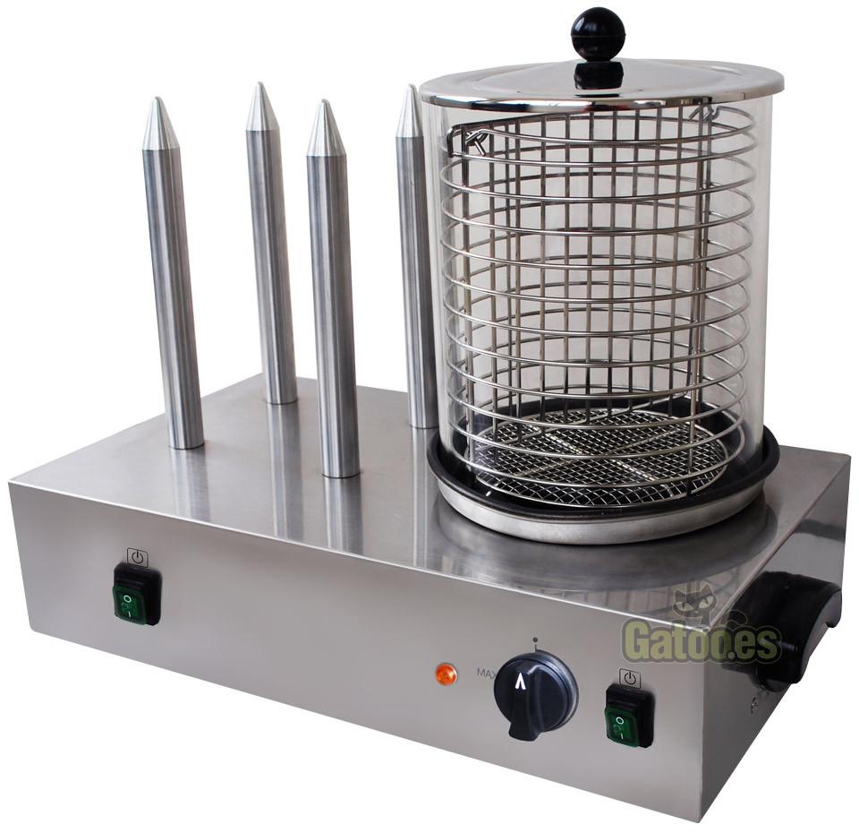Máquina de perritos calientes profesional Eltron
