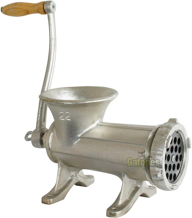 Picadora de carne manual Garhe 022