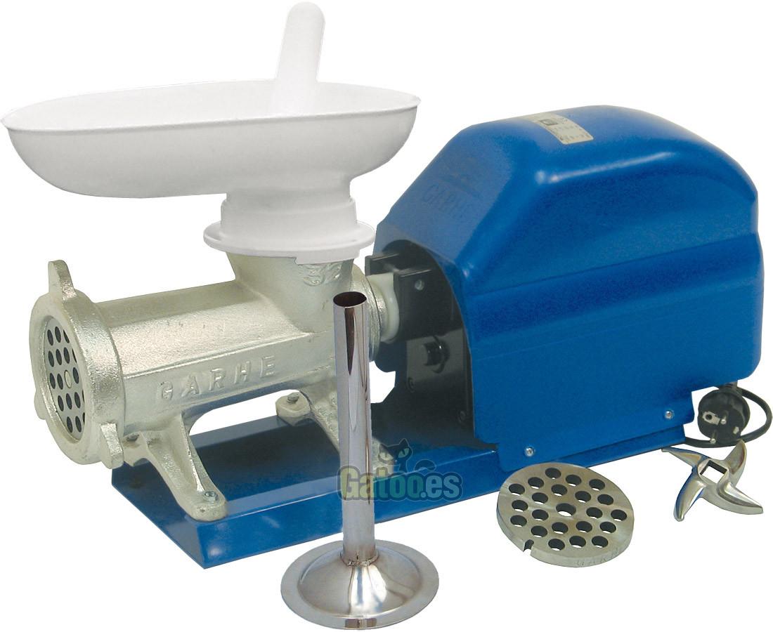 Picadora de Carne Profesional y Embutidora GARHE 359 (Cabezal 32 cm.)
