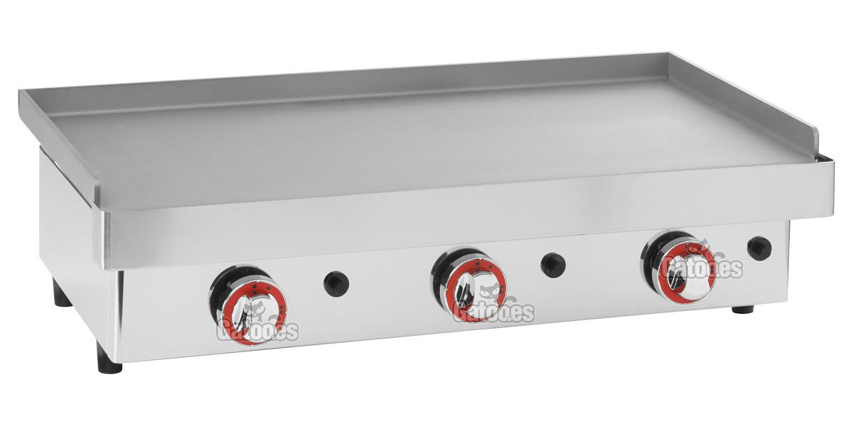 Plancha de cocina a Gas Arilex de 80 cm.