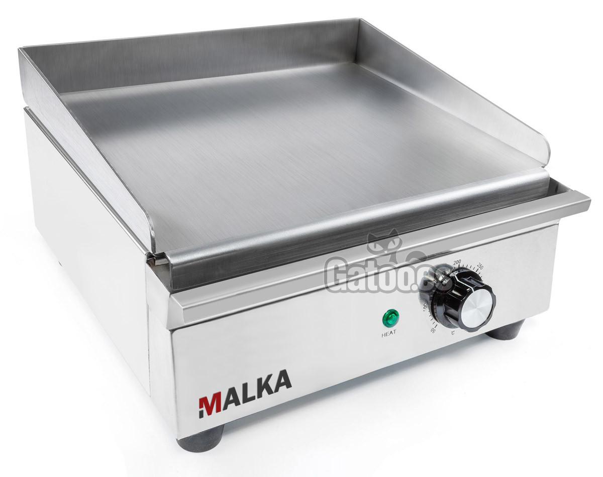 Plancha Eléctrica de Cocina Profesional Malka. Ancho 32 cm. (OUTLET Reacondicionado - Taras)