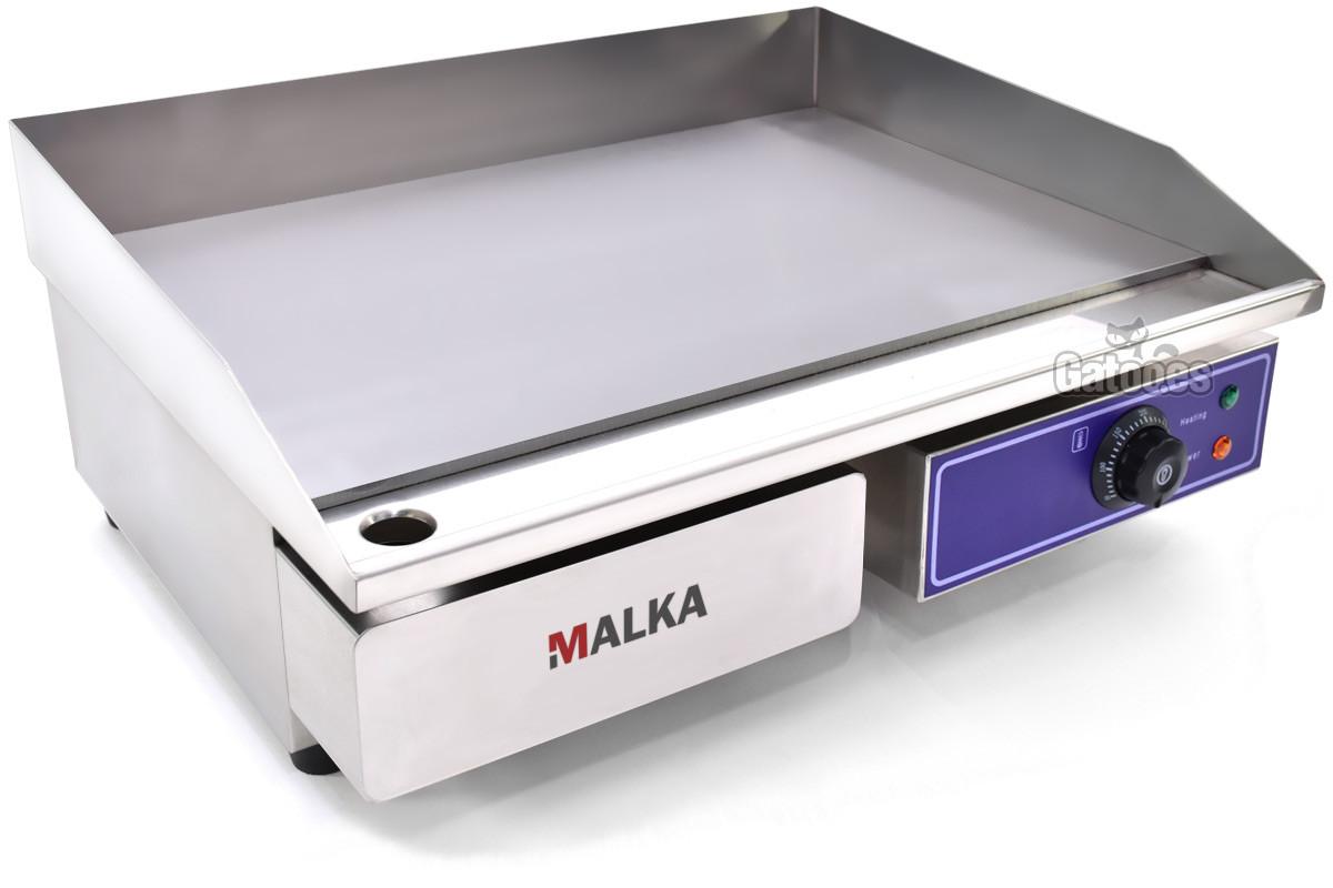 Plancha Eléctrica de Cocina Profesional Malka. Ancho 55 cm OUTLET
