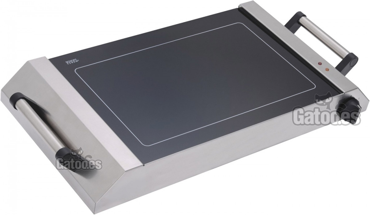 Plancha Eléctrica Vitrocerámica Profesional PV650. Ancho 65 cm