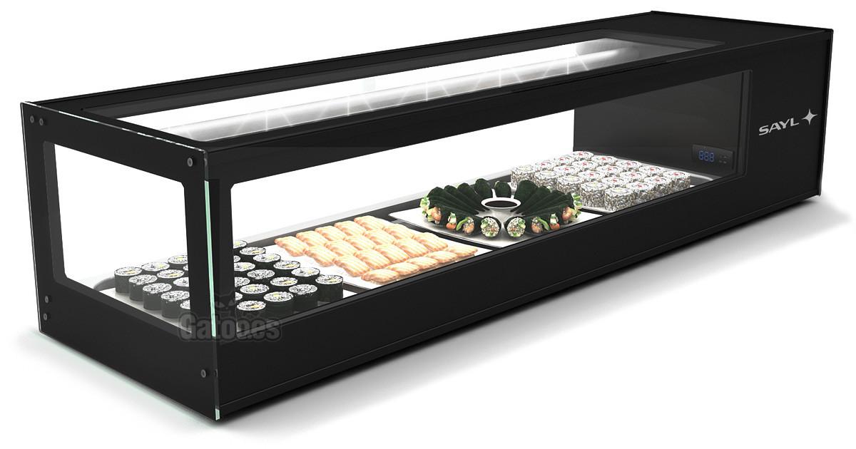 Vitrina para Sushi Refrigerada. Sayl LSU 6