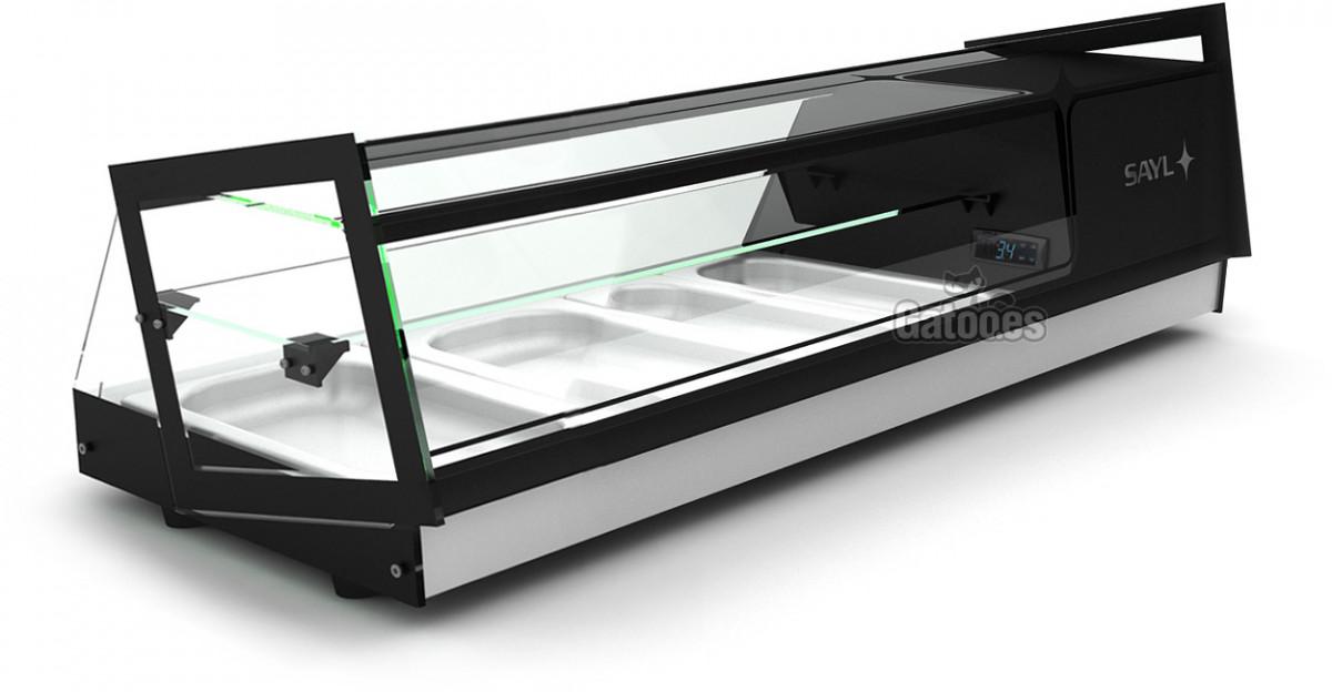 Vitrina Refrigerada para tapas. Sayl Cube-4