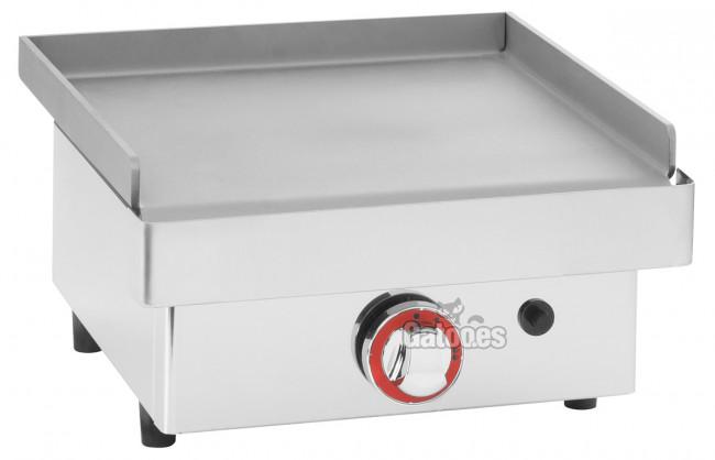 Plancha a gas profesional de 40 cm gatoo for Cocina de gas profesional