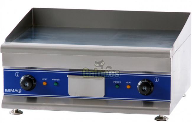 Plancha de asar profesional ibimar ibp 600 cromoduro gatoo - Planchas electricas cocina ...
