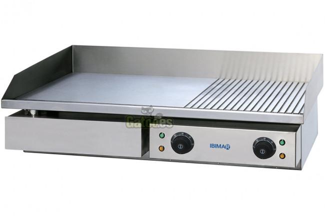 Plancha de asar profesional ibimar ibp m730 gatoo - Plancha electrica cocina ...