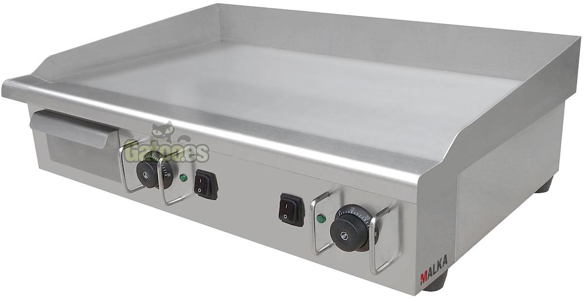 Plancha el ctrica de cocina profesional malka l3740 gatoo - Plancha de cocina ...