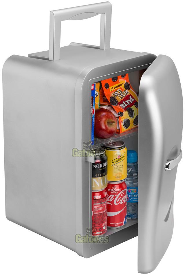 Mini nevera portatil de 17 litros ardes gatoo - Neveras pequenas oficina ...
