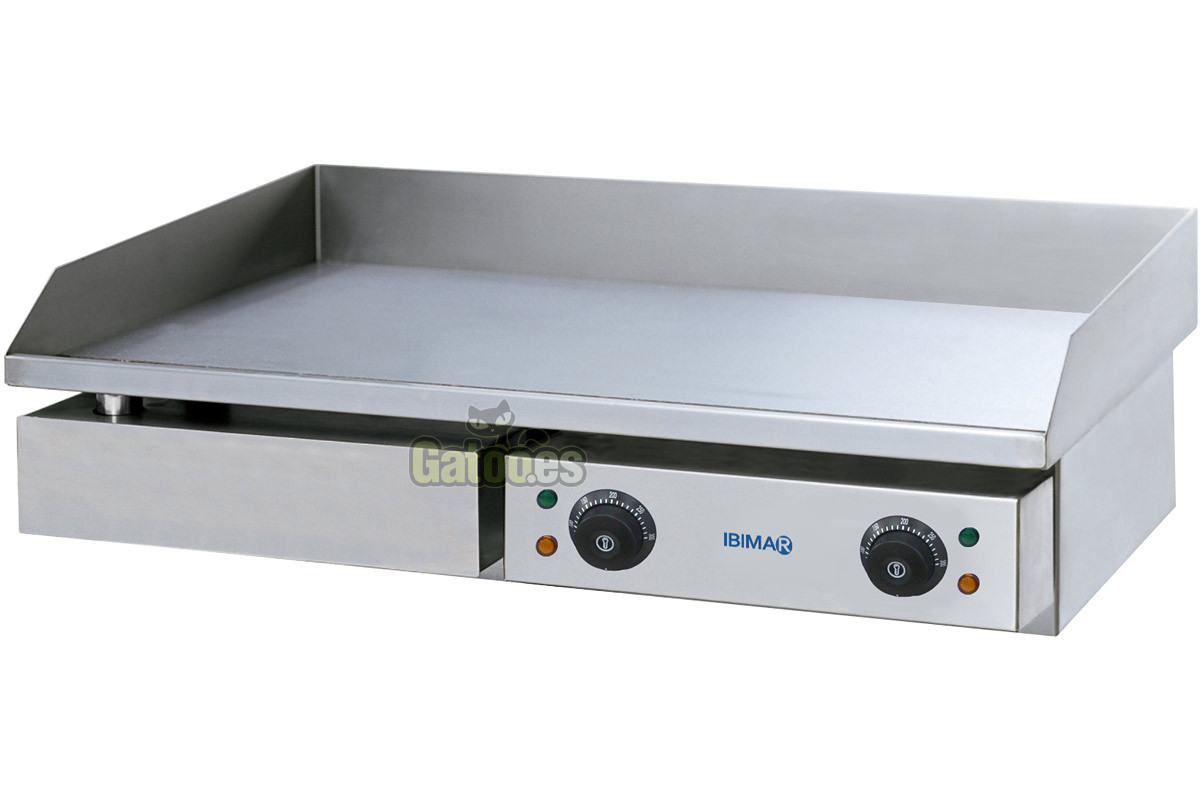 Plancha de asar profesional ibimar ibp l730 gatoo for Plancha electrica cocina