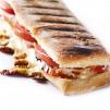 Panini hecho con Plancha-Grill Profesional. 340 cm