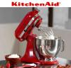 Amasadora Batidora KitchenAid Artisan 5KSM150 PS abierta para cocinar