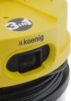 Aspirador Húmedo Seco H.Koenig TC120 con recoge-cable