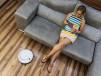 Robot Aspirador Inteligente Conga 750 WET - sofa