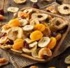 Frutas deshidratadas en la Deshidratadora Garhe 650