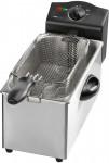 Freidora de acero inoxidable Clatronic de 3 litros