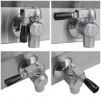 Válvulas de la Freidora Profesional a Gas 18 litros