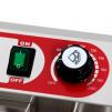 Freidora Profesional Eltron doble cesta (14+14) - detalle termostato