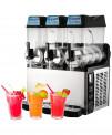 Granizadora Profesional 12+12+12 litros con bebidas