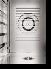 Interior del Horno de Cocina. Pantalla táctil. 6 bandejas GN 53x33. Con vapor, sonda y lavado. EKA