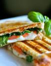 Sandwich en Plancha-Grill Profesional. Base y tapa Ranuradas