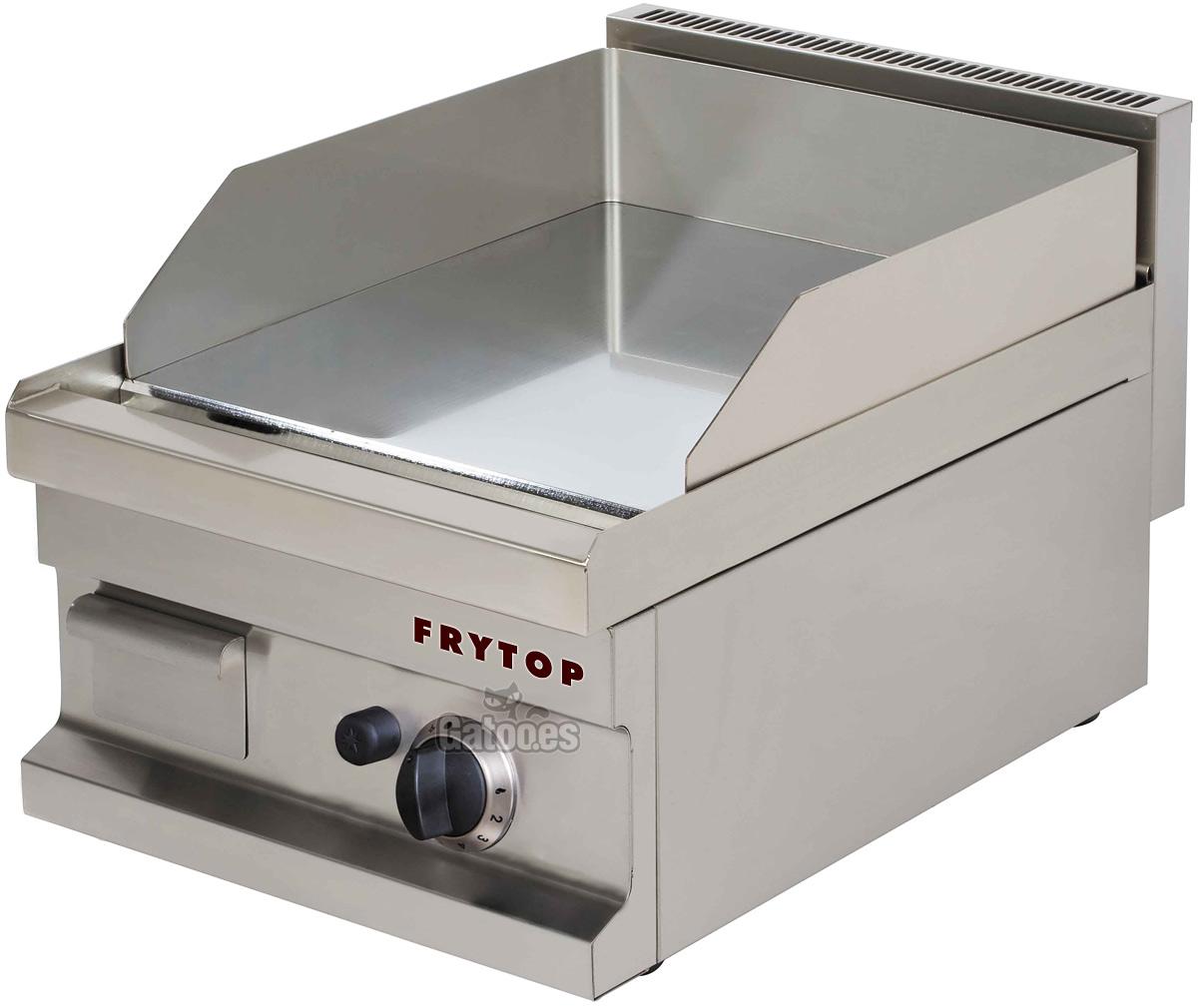 Fry Top Eléctrico Plancha Grill Profesional Placa Lisa Cocina 55 Cm 1 X 3 0 Kw